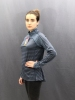 Жіноча кофта The North Face LS 1/4 Zip Top Wmn Blue (розмір М)  1