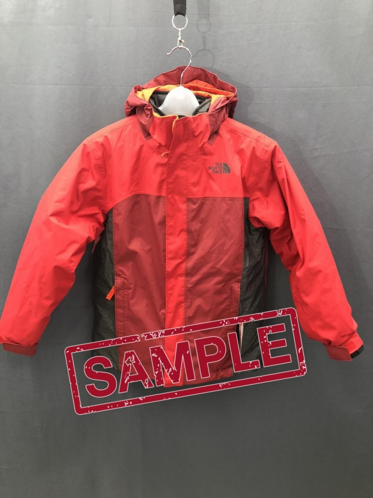 Дитяча куртка The North Face BOUNDARY TRICLIMAT TNF RED (розмір М) ... 6e9aa247d9ba1