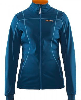 Жіноча куртка Craft Force Jacket Wmn Teal/Typhoon/Sprint (розмір М)