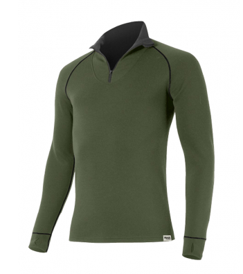 Термобілизна чоловіча Reusch Nanga Sweat Shirt With Zipper Khaki