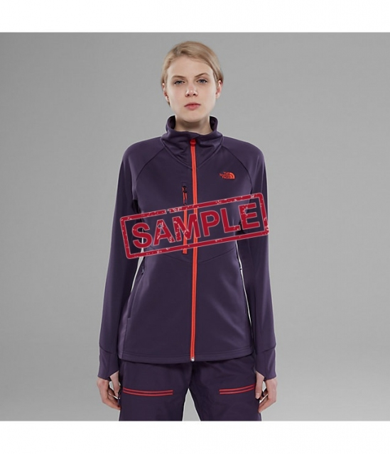 Жіноча худі The North Face Powder Guide Midlr Fleece Wmn Eggplnt (Розмір М)