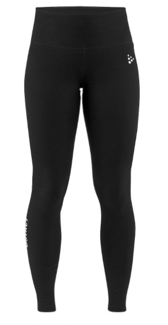 Жіночі тайтси Craft District Tights W Black (розмір М)