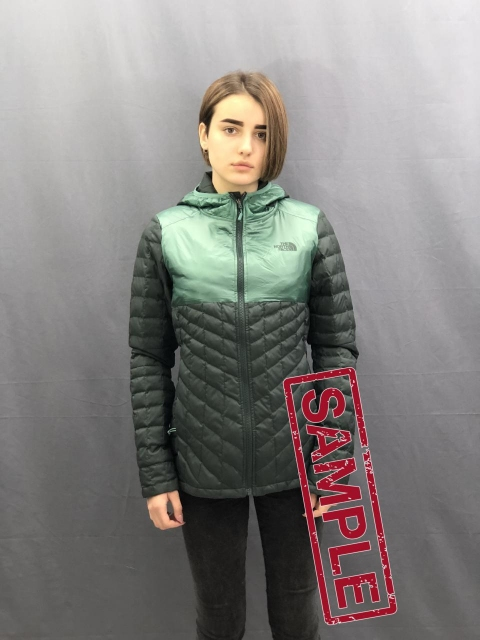Жіноча куртка The North Face Thermoball Plus HO Wmn Green (розмір М)