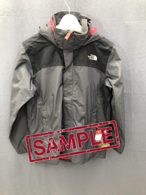 Дитяча куртка The North Face Resolve Boys Grapfite Grey (розмір М)