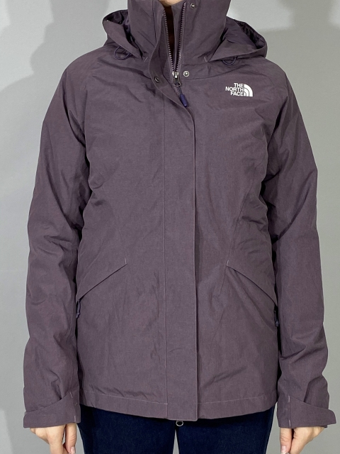 Жіноча куртка The North Face Tri + Ins Thermoball Wmn Purple (розмір М)