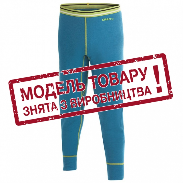 Термобілизна дитяча Craft Warm Wool Underpants Junior Flame
