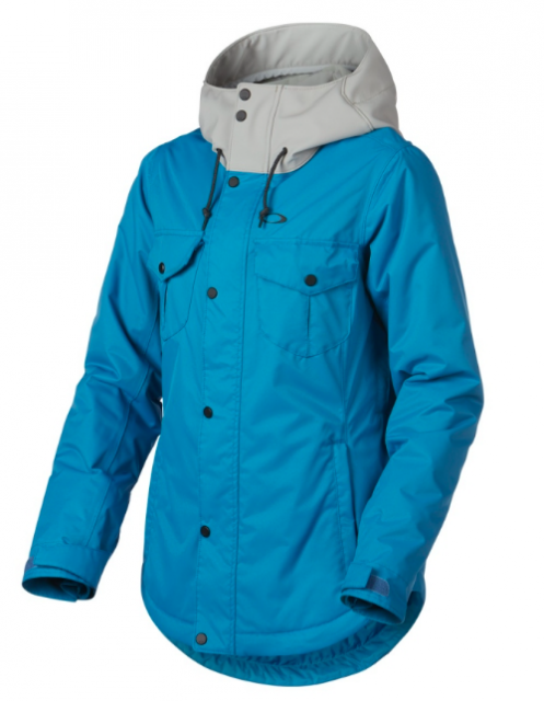 Гірськолижна куртка Oakley Charlie Biozone Insulated Jacket 2.0 California Blue (розмір XS)