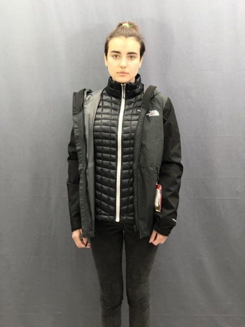 Жіноча куртка The North Face THERMOBALL Triclim Wmn Black (розмір М)