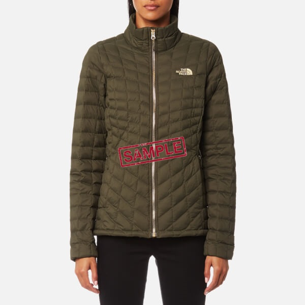 Жіноча куртка The North Face Thermoball FZ Wmn Taupe Green (Розмір М)