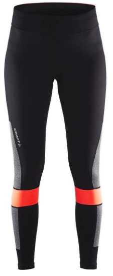 Жіночі тайтси Craft Breakaway Block Tights Wmn Black/Panic (розмір М)