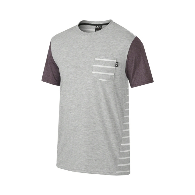 Футболка Oakley Block Tee Heather Grey