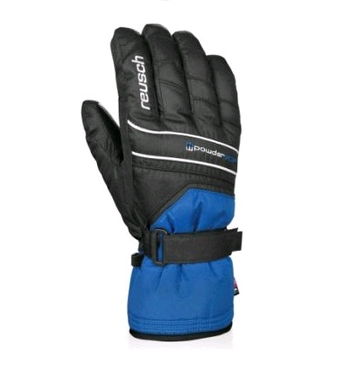 Гірськолижні рукавиці Reusch Powderstar R-TEXXT imper.blue/black 455