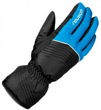 Гірськолижні рукавиці Reusch Bero R-TEXXT Junior imper.blue/black 455