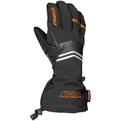 Гірськолижні рукавиці Reusch Gasherbrum Triple System R-TEX® XT 794 black/orange popsicle