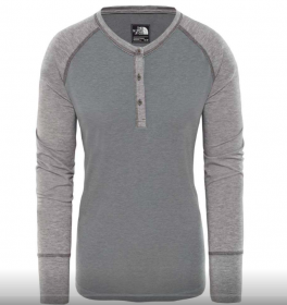 Жіноча кофта The North Face In-A-Flash Henley Grey (розмір М)