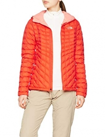 Жіноча куртка The North Face THERMOBALL HOODIE FIRE BRICK RED (розмір М)