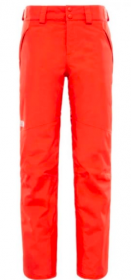 Жіночі гірськолижні штани THE NORTH FACE Women's Chavanne Pant FIRE BRICK RED