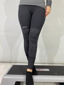Жіночі тайтси Craft Vibe Tights Wmn Black Multi (розмір М)