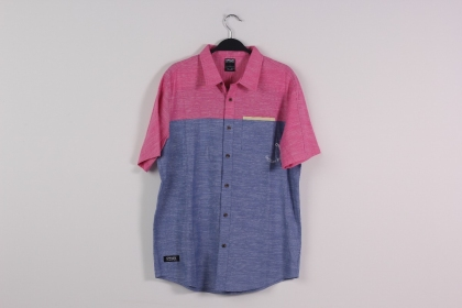 Сорочка Oakley Fakie Sleeve Woven Shirt Factory Pilot Blue