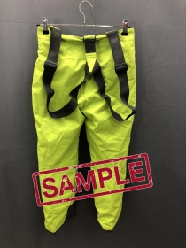 Дитячі  штани The North Face SNOWQUEST SUSPENDE CHIVE GREEN (розмір М)