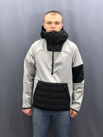Чоловіча кофта THE NORTH FACE TML WINDWALL DN HD TNF BLACK HTHR (Розмір М)