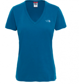 Жіноча футболка The North Face W Dom Tee Blue Coral (розмір М)