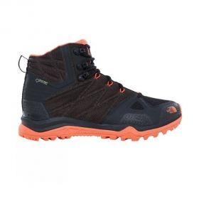 Жіночі трекінгові черевики The North Face  Ultra Fastpack II Mid GTX BLACK/NASTURTIUM ORNG( UK 7, 26 см)