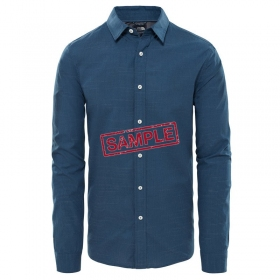 Чоловіча сорочка The North Face M L/S DOT MATRIX SHIRT SHADY BLUE DOT JACQUARD (розмір М)