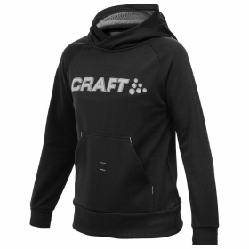 Кофта дитяча Craft Stretch Hood Junior Black