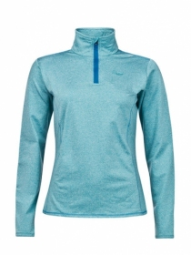 Кофта жіноча Protest Fabrizom 16 1/4 Zip Top Teal Green
