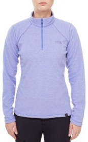 Жіноча кофта The North Face Fleece GLCR 1/4 Zp Polartec Wmn Star Purple (розмір М)