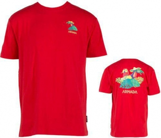 Футболка Armada Tourist S/S Tee Red