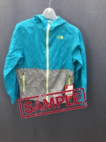 Дитяча куртка The North Face Flurry Wind Hoodie Girls Bluebird (розмір М)