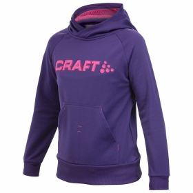 Кофта дитяча Craft Stretch Hood Junior Vision/Orchid