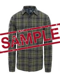 Чоловіча сорочка The North Face L/S ARROYO FLANNEL FOUR LEAF CLOVER (розмір М)
