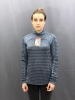 Жіноча кофта The North Face LS 1/4 Zip Top Wmn Blue (розмір М)
